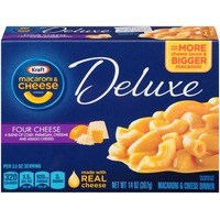 Kraft Dinners Deluxe Four Cheese Macaroni & Cheese Dinner