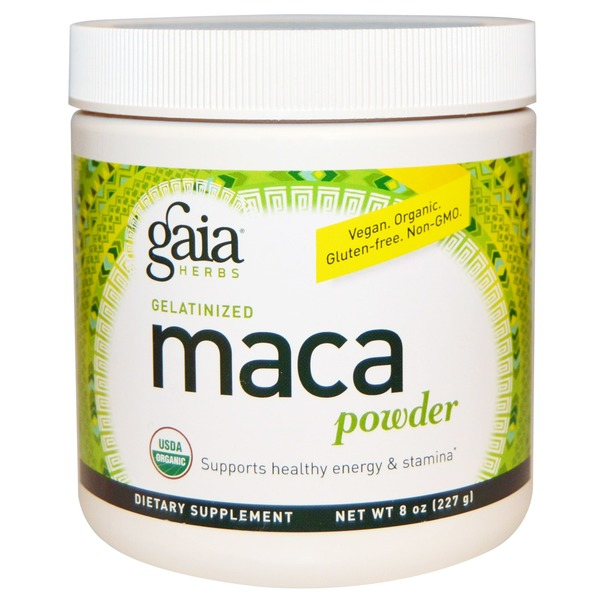 Gaia Herbs Gelatinized Maca Powder