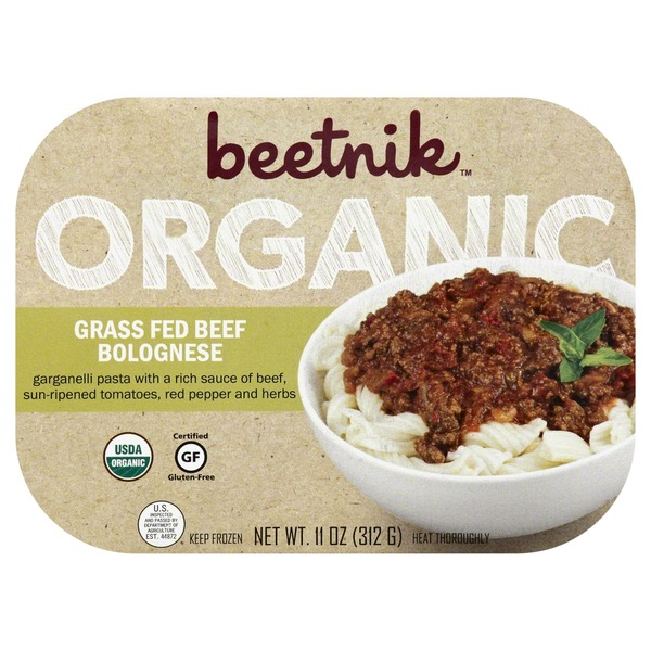Beetnik Grass Fed Beef Bolognese, Organic