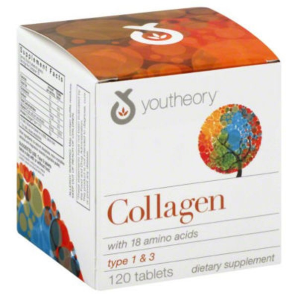 Youtheory Collagen Type 1 & 3, Tablets
