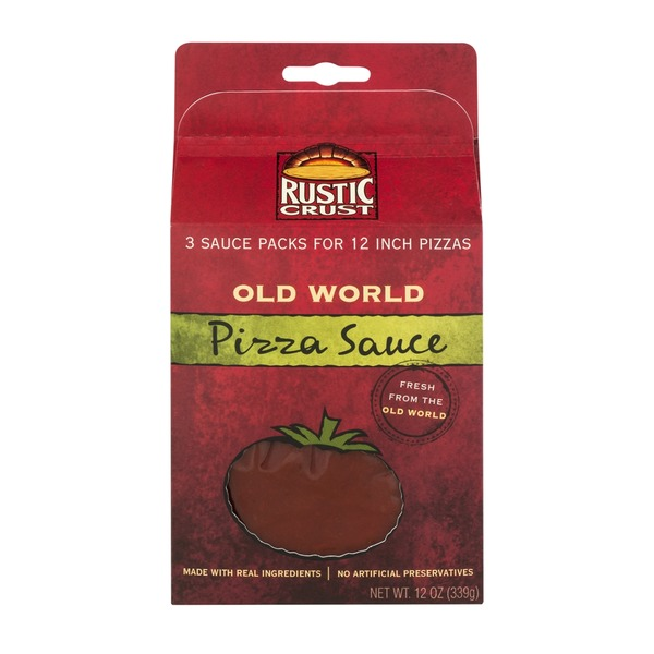 Rustic Crust Old World Pizza Sauce - 3 CT