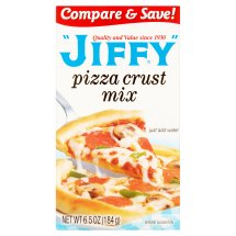 Jiffy Pizza Crust Mix, 6.5 oz