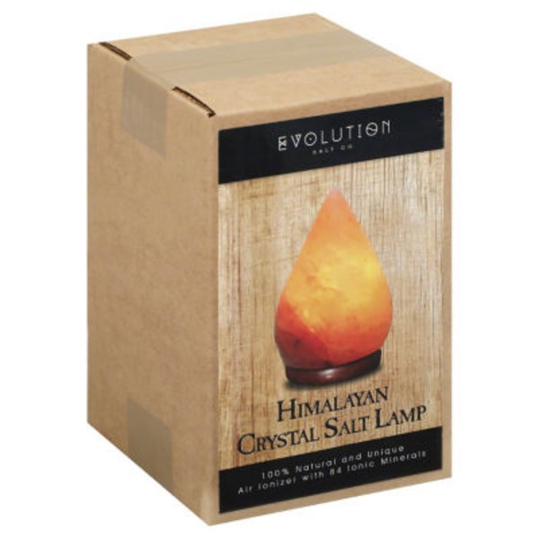 Evolution Salt Himalayan Crystal Salt Lamp