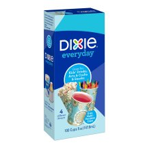 Dixie Bath Cups, 5 Oz, 100 Count