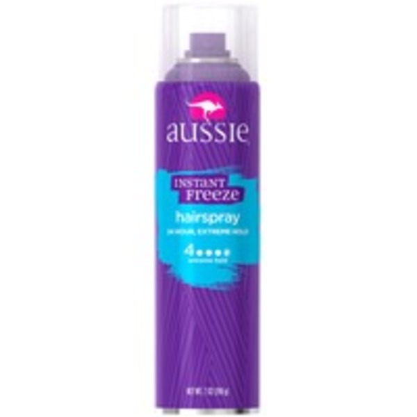 Aussie Extreme Hold Aussie Instant Freeze Aerosol Hairspray 7 fl oz Female Hair Care