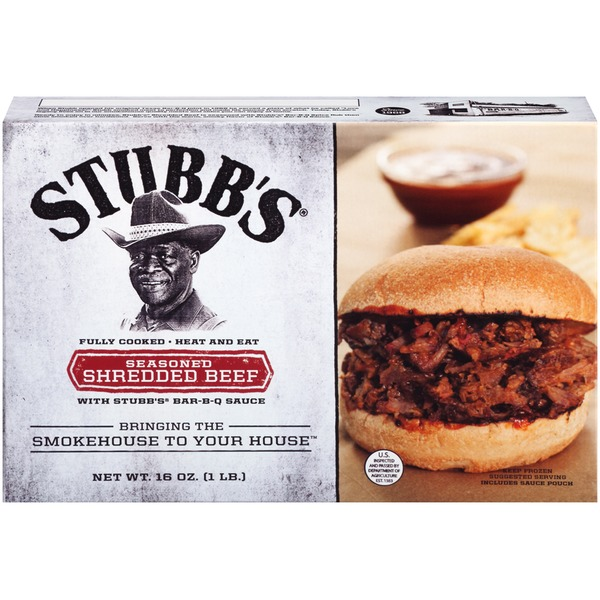 Stubb's Seasoned Shredded Beef