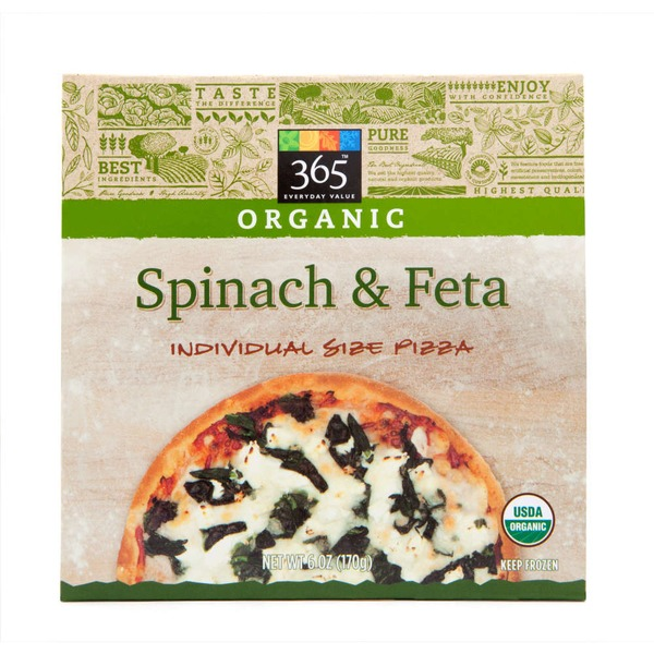 365 Organic Spinach & Feta Pizza
