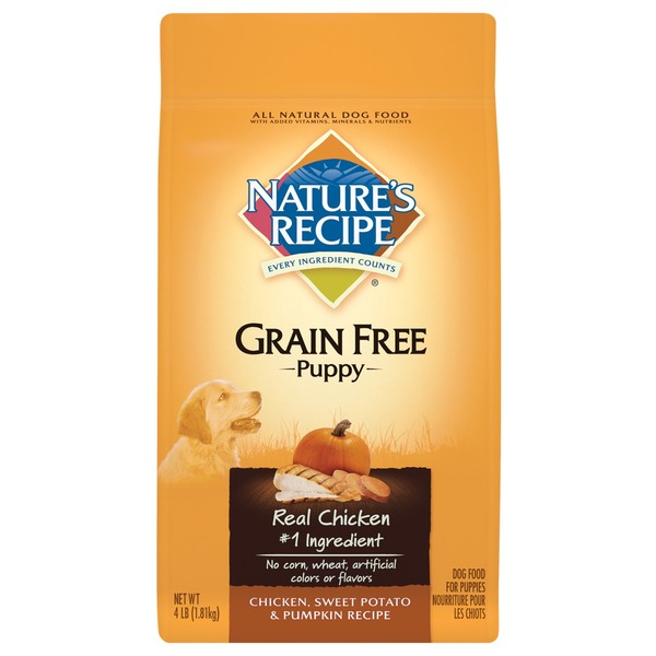 Nature's Recipe Chicken Sweet Potato & Pumpkin Grain Free Puppy Food