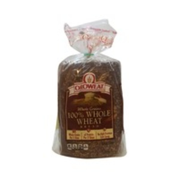Brownberry/Arnold/Oroweat 100% Whole Wheat Bread