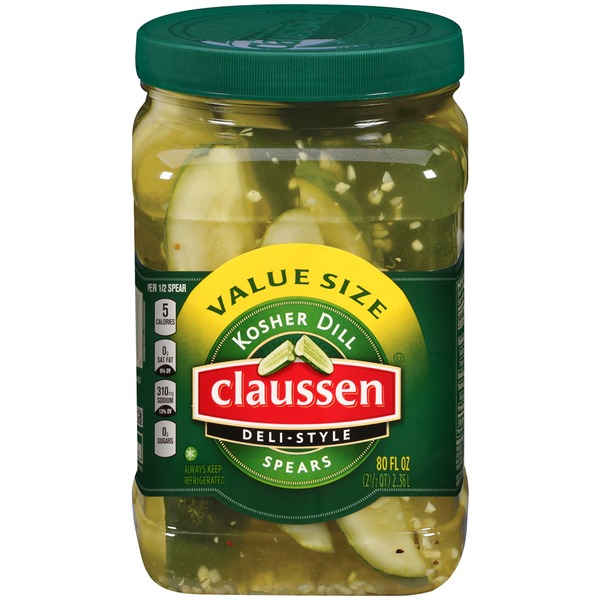 Claussen Deli-Style Kosher Dill Spears Pickles