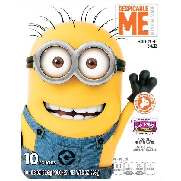 Betty Crocker Despicable Me Fruit Flavored Snacks