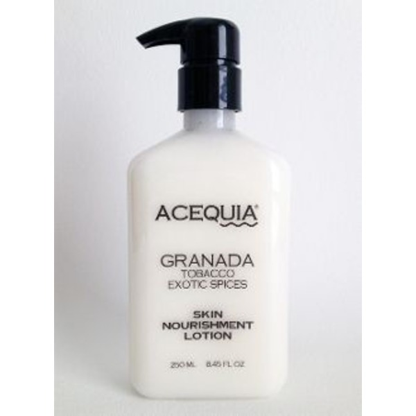 Acequia Granada Tobacco Exotic Spices Skin Nourishment Lotion
