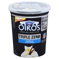 Dannon Oikos Greek Yogurt Triple Zero Vanilla