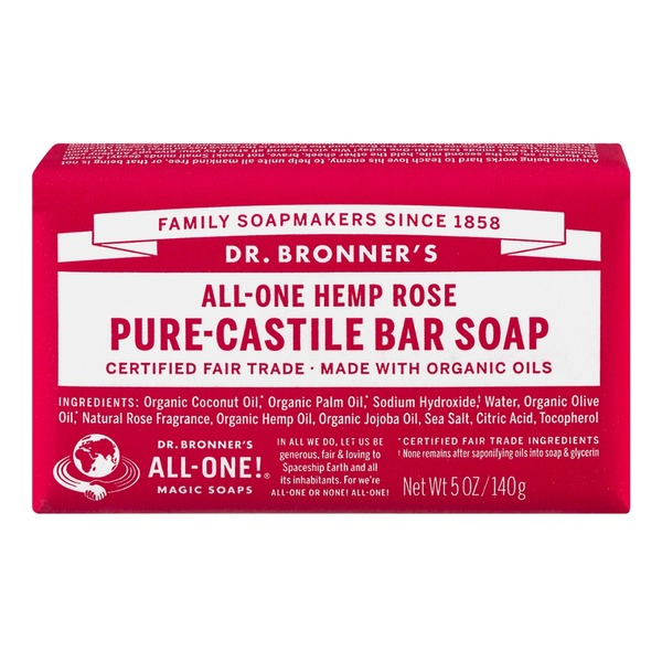 Dr. Bronner's Magic All-One Dr. Bronner's All-One Hemp Pure-Castile Bar Soap