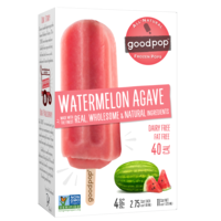GoodPop Watermelon Agave Frozen Pops