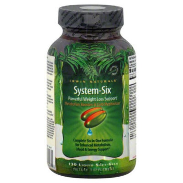 Irwin Naturals System-Six Powerful Weight Loss Support