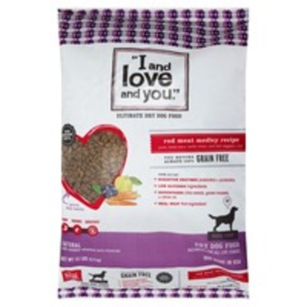 I and love and you Dog Food Dry Red Meat Medley Recipe