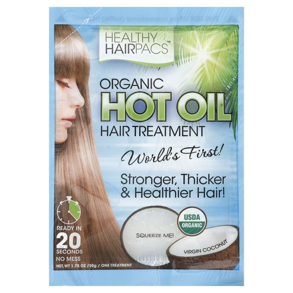 Healthy Hairpacs Organic Hot Oil Hair Treatment
