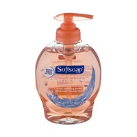 Softsoap Antibacterial Liquid Hand Soap with Moisturizers, Crisp Clean Scent