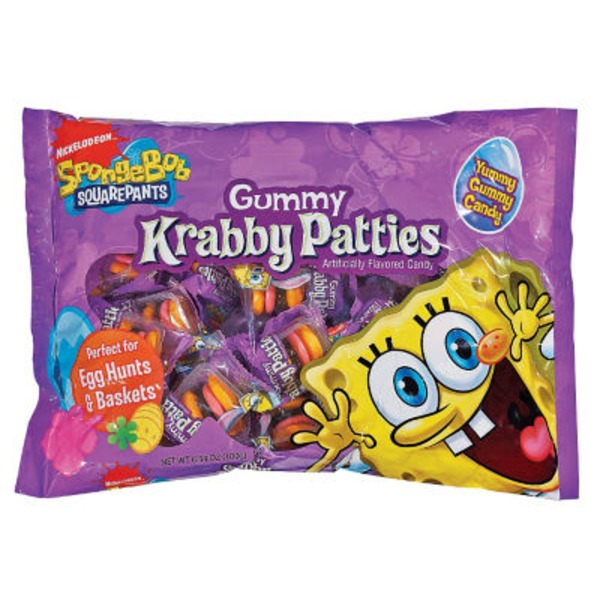 Yummy Gummy Candy SpongeBob Squarepants Krabby Patties