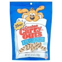 Canine Carry Outs Chicken Flavor Dog Treats, 25 Oz.