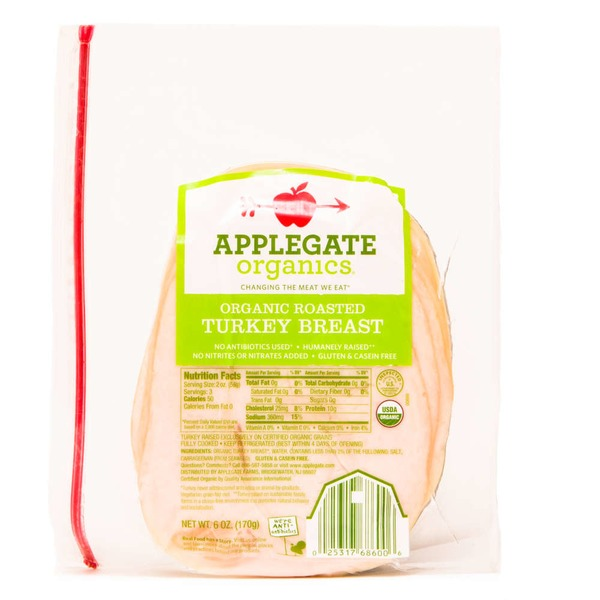 Applegate Organic Oven Roasted Turkey Breast