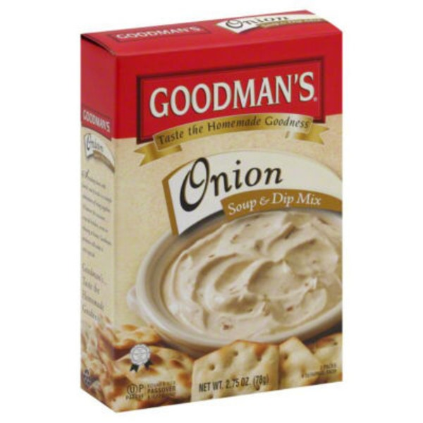 Goodman's Onion Soup & Dip Mix - 2 PK