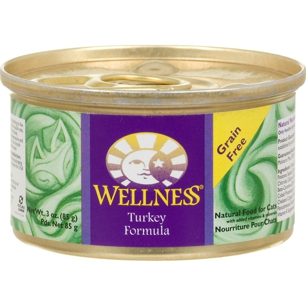 Wellness Grain Free Turkey Canned Cat Food