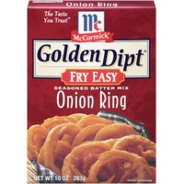 Mccormick Golden Dipt Fry Easy Onion Ring Seasoned Batter Mix