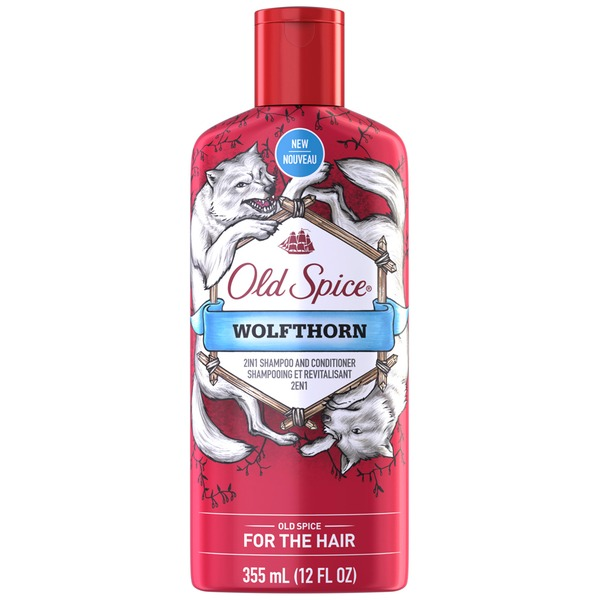 Old Spice Shampoo & Conditioner