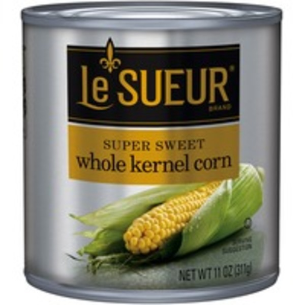 Le Sueur Whole Kernel Super Sweet Corn