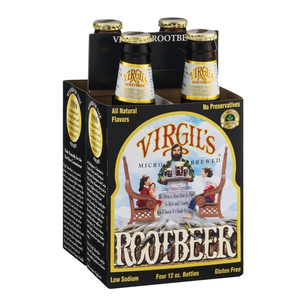 Virgil's Rootbeer - 4 CT