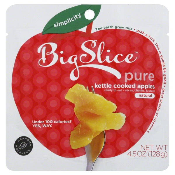 Big Slice Natural Kettle Cooked Apples Fruit Pouch