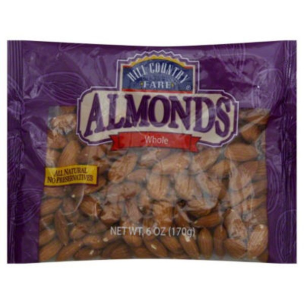 Hill Country Fare Whole Almonds