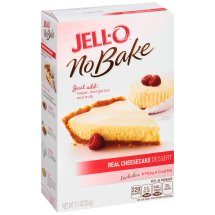 Jell-O No Bake Desserts Real Cheesecake, 11.1 Oz