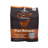 Wellness Core Pure Rewards Chicken and Lamb Jerky Bites Dog Treats