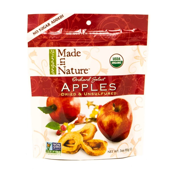 Made in Nature Organic Made in Nature Dried & Unsulfured Orchard Select Apples