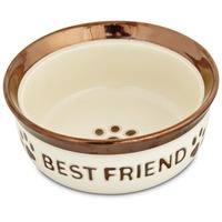 Harmony Best Friend Ceramic Dog Bowl 1.5 C.