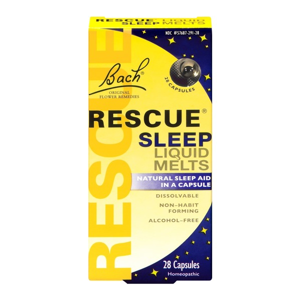 Bach Rescue Sleep Liquid Melts - 28 CT