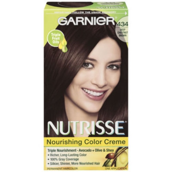 Nutrisse® 434 Deep Chestnut Brown (Chocolate Chestnut) Nourishing Color Creme