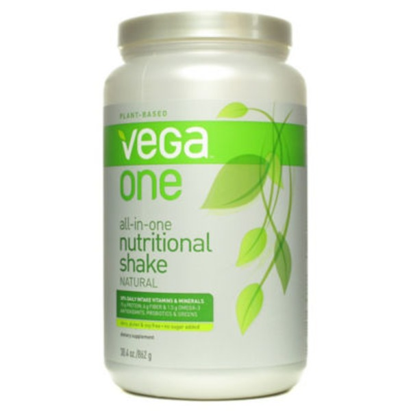 Vega One All-In-One Nutritional Shake Natural Drink Mix