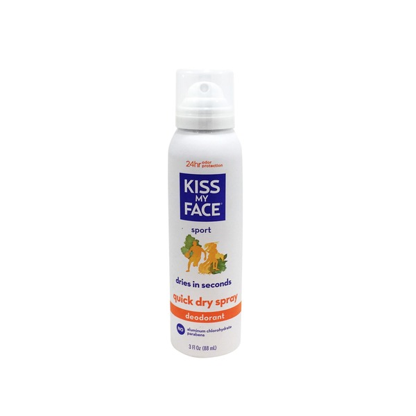 Kiss My Face Deodorant Spray Sport