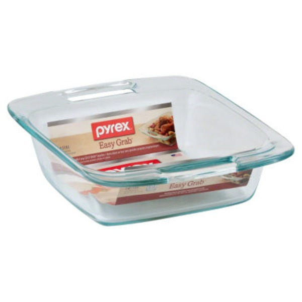 Pyrex 8&Quot; X 8&Quot; Easy Grab Square Bake Dish