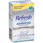 Refresh Optive® Advanced Lubricant Eye Drops 2-0.33 fl. oz. Bottles