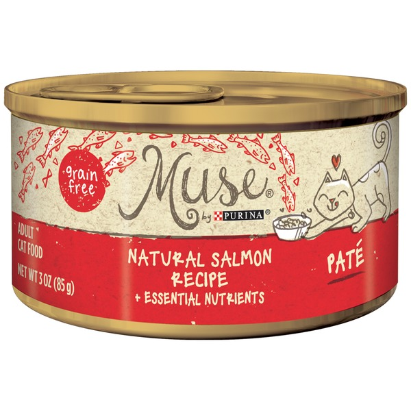 Muse Wet Natural Salmon Recipe Cat Food