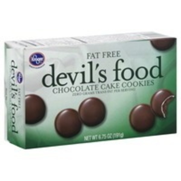 Kroger Ff Devils Food Cookies