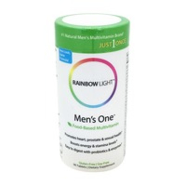 Rainbow Light Multivitamin, Men's One, Tablets, Can
