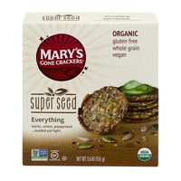 Mary's Gone Crackers Super Seed Everything