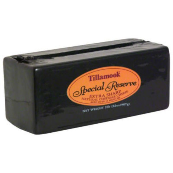 Tillamook Special Reserve Extra Sharp Cheddar Cheese