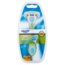 Equate Women's 5-Blade Razor with Replacement Cartridges, 2 Ct